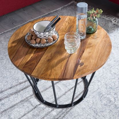 Picture of Industrial Style Round Coffee Table