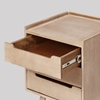 Picture of Southwark Bedside Table, Grey Wash Mango Wood