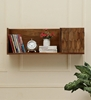 Picture of S-Pike Mango Wood Wall Shelf By Woodenmood